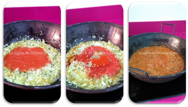 Paso a paso Tajine de dorada en salsa especiada de tomate y cebolla