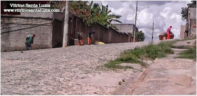 Prefeitura inicia Operação capina em Santa Luzia MG