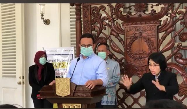 Corona Makin Mengerikan, Gubernur Anies : Jangan Pulang Kampung