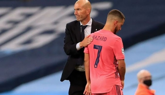 I Can't Explain Eden Hazard's Injury – Real Madrid Boss Zidane