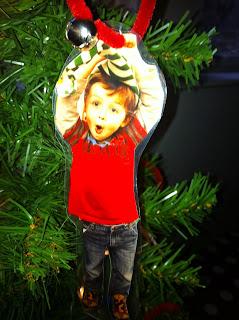 Christmas Elf Crafts for Kids; Elf ornament