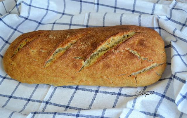 Pan de Tritordeum con masa madre