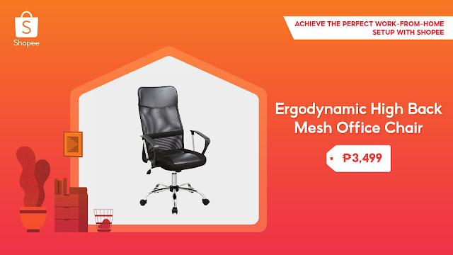 edgodynamic high back mesh office chair