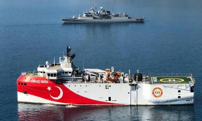 Αιγαίο: Δείτε πού βρίσκεται το τουρκικό ερευνητικό - Πόσες ώρες θέλει για να φτάσει στο Καστελόριζο