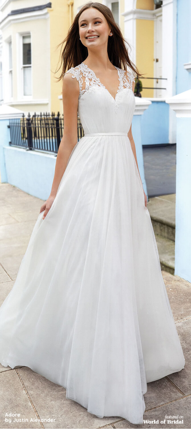 Adore by Justin Alexander Fall 2020 Wedding Dresses ...