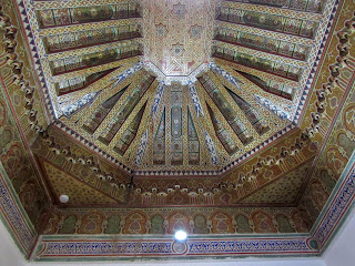 Artesonado; Techo; Palacio; Palace; Palais; Dar Si Said; Marrakech; مراكش; ⴰⵎⵓⵔⴰⴽⵓⵛ; Marruecos; Morocco; Maroc; المغرب