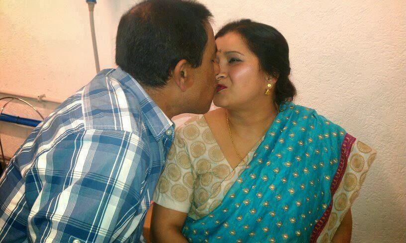 mallu aunty with uncle