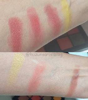 Nyx Ultimate Shadow Palette Phoenix kullananlar
