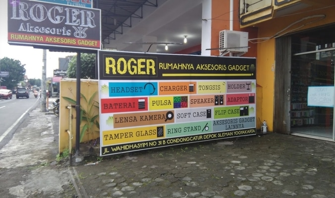 Lowongan Frontliner Gerai Roger Aksesoris  Bantul Yogyakarta