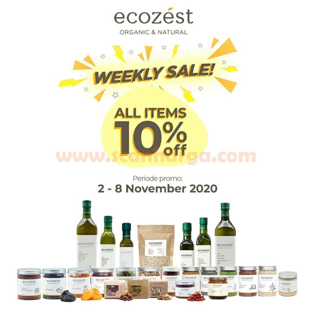 Promo ECOZEST Weekly Sale! Diskon 10% Produk Pilihan
