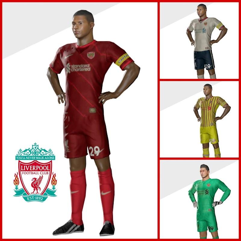Kit Liverpool 2022 & Logo Dream League Soccer