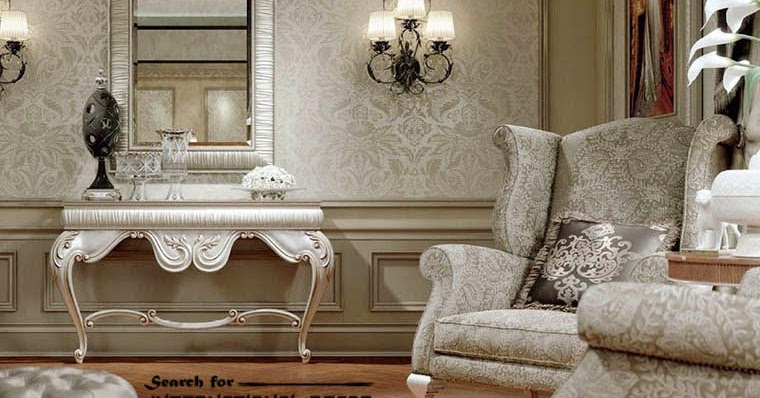 Luxury Classic Interior Design Decor And Furniture