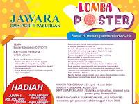 Lomba Desain Poster Nasional Jawara 2020, Gratis