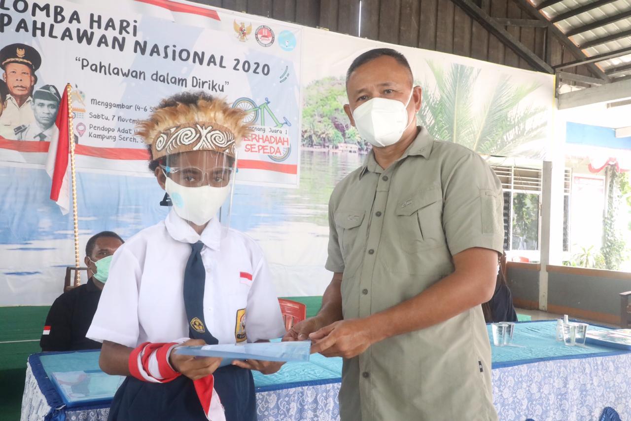 Seratus Pelajar Papua Ikuti Lomba Hari Pahlawan Nasional