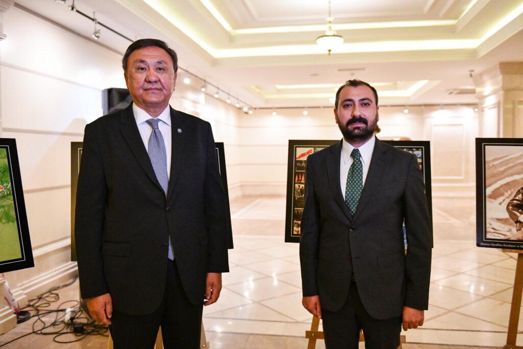 Kırgız Cumhuriyeti Ankara Büyükelçisi Kubanıçbek Ömüraliyev