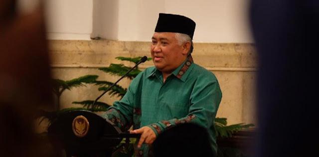 Lebih Dari 12 Ribu Orang Telah Tanda Tangani Petisi Bela Din Syamsuddin