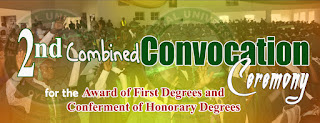 FUOYE 2nd Combined Convocation Ceremony Programme of Events