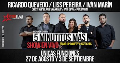 5 MINUTITOS MAS ¡EN VIVO!