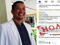 Dirut RS Batara Siang Tegaskan Issu Corona di Pangkep adalah Kabar Bohong (Hoax)