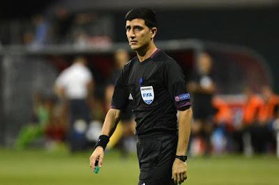 حكم من أذربيجان لادارة مباراة الزمالك والاتحاد السكندري فى نصف نهائي كأس مصر
