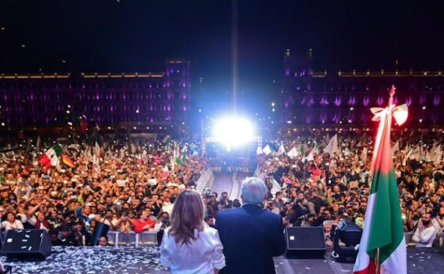 Noche, elecciones, evento