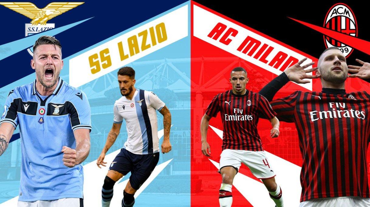 مشاهدة مباراة ميلان ضد لاتسيو 23-12-2020 بث مباشر في الدوري الايطالي