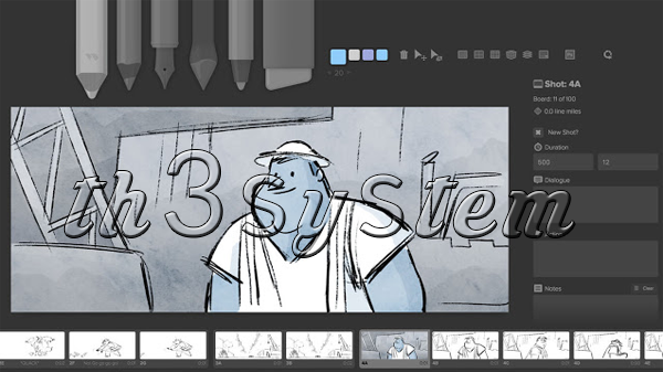 Storyboarder free program to draw a graphic video stories and available versions can and Linux and Mac