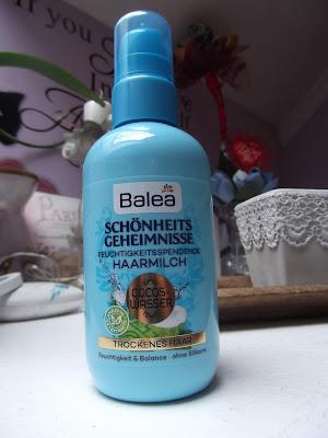 Balea Tajomstvo krásy hydratačné mlieko na vlasy,