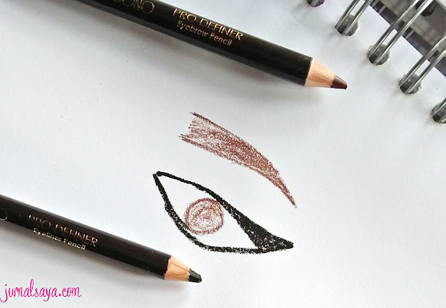 eyebrow pencil local