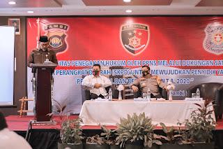 Sudirman : Pembinaan Kemampuan Penyidik Polri dan PPNS Kunci Penting Penegakan Perda