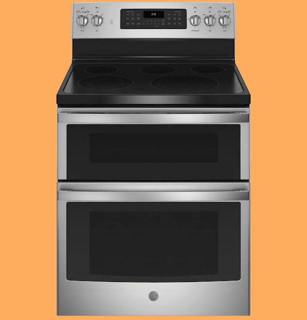 GE 30-inch Freestanding Electric Double Oven Convection Range