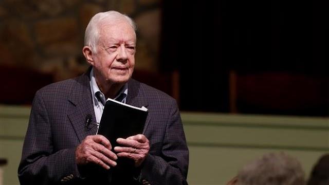 Jimmy Carter writes 'Short' time left for US President Barack Obama to recognize Palestine