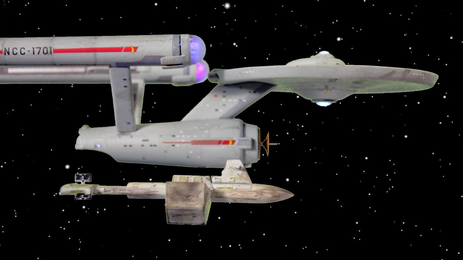 Fordo's Models: Polar Lights/Round 2 USS Enterprise - Space