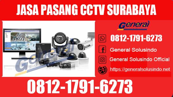 Jasa Pasang CCTV Surabaya Barat