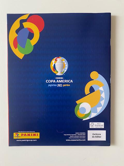 Quarta Copertina Album Copa America 2021