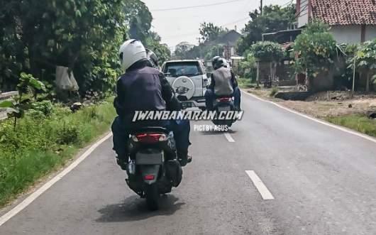 Terciduk Uji Jalan Raya Yamaha Nmax 155 VVA