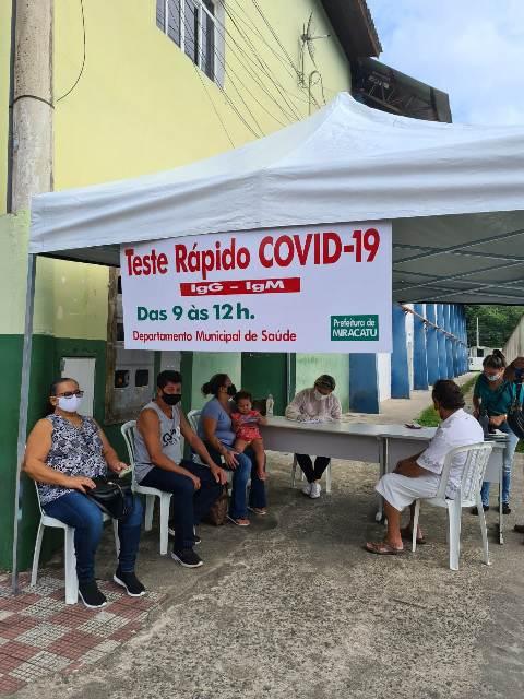 Prefeitura de Miracatu realiza testagem da população para COVID-19