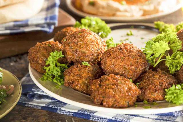 Lebanese Chickpea Falafel Recipe