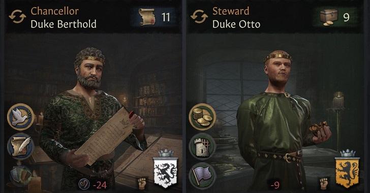 Comparison of Crusader Kings 4 vs Crusader Kings 3