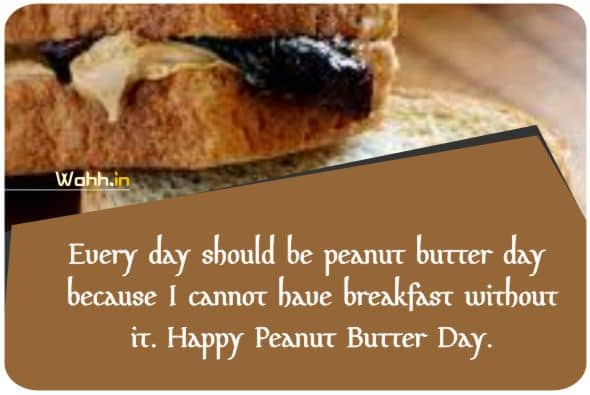 National Peanut Butter and Jelly Day Quotes Greetings