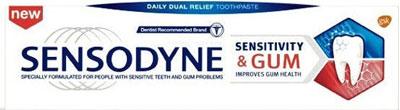 معجون الأسنان سنسوداين للحساسية واللثة