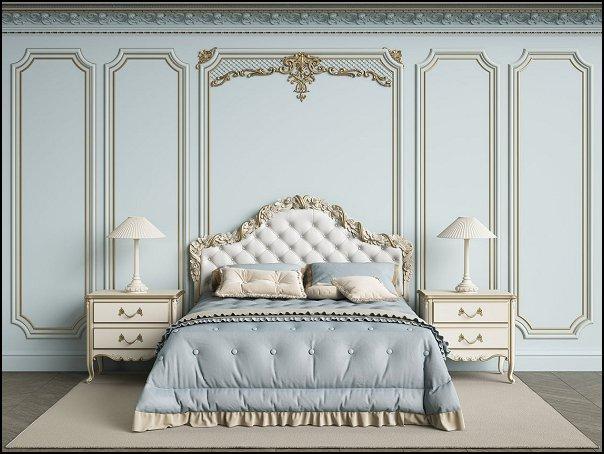 cornice moldings Mural  Wallpaper marie antoinette bedroom wall decor