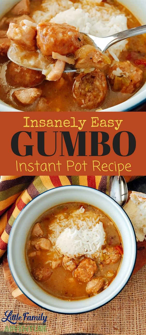 Easy Gumbo Recipe (Instant Pot Recipe)