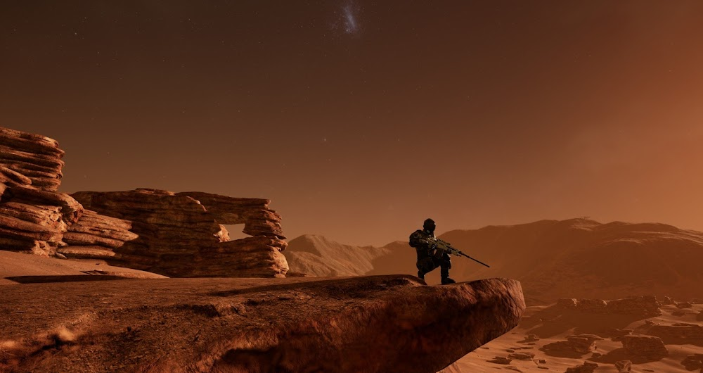 Memories of Mars game image - lone sniper