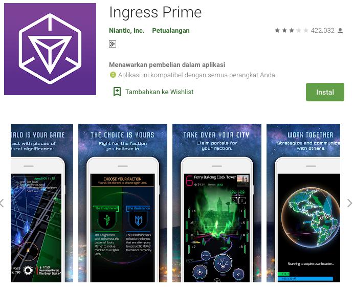Game AR iOS dan Android