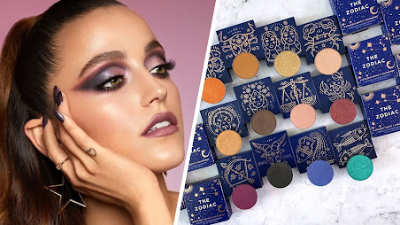 Zodiac horoscope eyeshadows