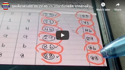 Thai lottery VIP tips 001 direct winning sets 01 August 2019