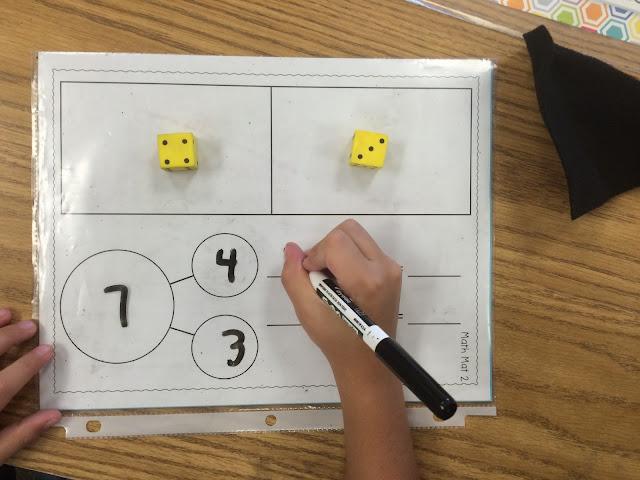 Kroger's Kindergarten: Number bonds