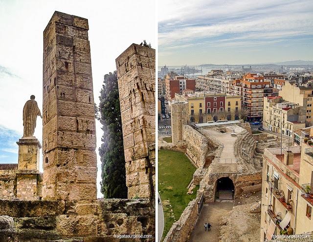 O Fórum e o Circo Romano de Tarragona, Espanha