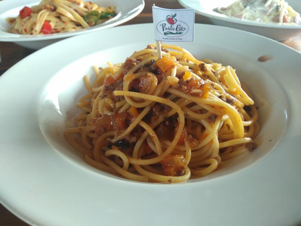 Spaghetti Bolognese di Pasta Gio Monjali, Jogja